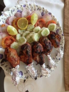 Tandoori Chicken Drumsticks - Oven Baked - Plattershare - Recipes, Food Stories And Food Enthusiasts