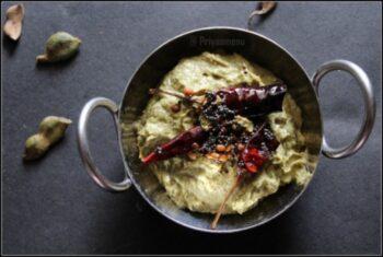 Chintakaya Pachadi / Raw Tamarind Pachadi - Plattershare - Recipes, Food Stories And Food Enthusiasts