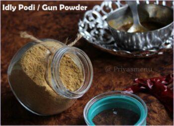 Idly Podi / Gun Powder - Plattershare - Recipes, Food Stories And Food Enthusiasts
