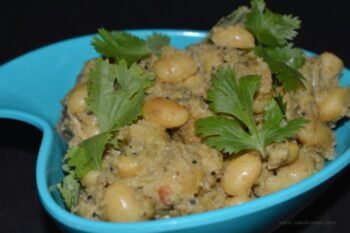 Butter Beans / Lima Beans Masala - Plattershare - Recipes, Food Stories And Food Enthusiasts
