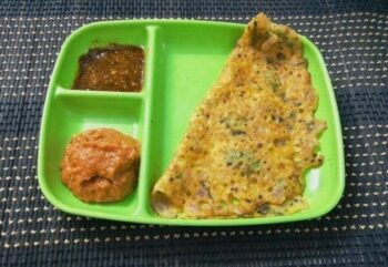 Maize/Corn Flour Dosa (Chola Dosai) - Plattershare - Recipes, Food Stories And Food Enthusiasts
