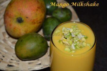 Mango Milkshake - Plattershare - Recipes, Food Stories And Food Enthusiasts