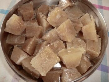 Aam Panna Cubes - Plattershare - Recipes, Food Stories And Food Enthusiasts