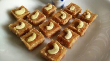 Bread Ki Barfi ( Bread Carrot Burfi) - Plattershare - Recipes, Food Stories And Food Enthusiasts