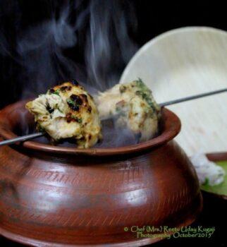 Murgh Methi Malai Kebab. - Plattershare - Recipes, Food Stories And Food Enthusiasts