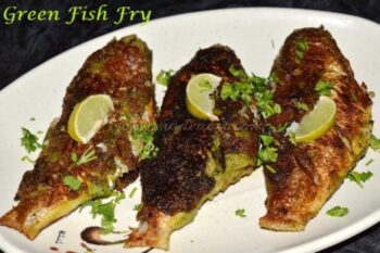 Green Fish Fry / Herb Fish Fry - Plattershare - Recipes, Food Stories And Food Enthusiasts