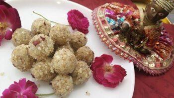 Coconut Makhana Ladoo - Plattershare - Recipes, Food Stories And Food Enthusiasts