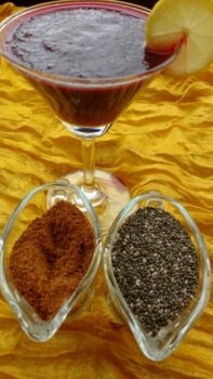 Chia Veggie Smoothie - Plattershare - Recipes, Food Stories And Food Enthusiasts
