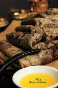 Puran Poli With Organic Plantation Molasses - Plattershare - Recipes, Food Stories And Food Enthusiasts