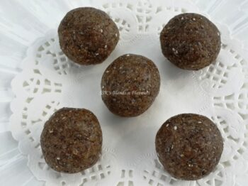 Almond Chia Seeds Laddu - Plattershare - Recipes, Food Stories And Food Enthusiasts