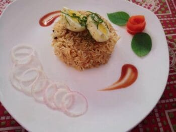 Saufyani Egg Pulav - Plattershare - Recipes, Food Stories And Food Enthusiasts
