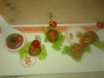 Fish Ball With Plum &Amp; Kiwi Sauce - Plattershare - Recipes, Food Stories And Food Enthusiasts