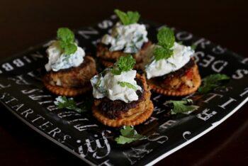 Licious Malabar Fish Canap??©S - Plattershare - Recipes, Food Stories And Food Enthusiasts