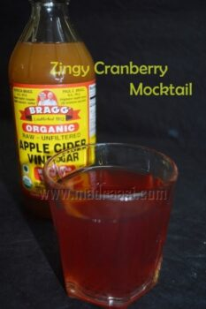 Zingy Cranberry Mocktail - Plattershare - Recipes, Food Stories And Food Enthusiasts