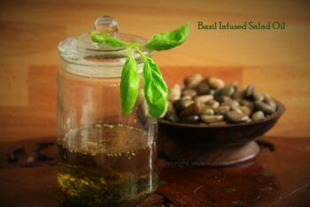 Basil Infused Salad Oil - Plattershare - Recipes, Food Stories And Food Enthusiasts