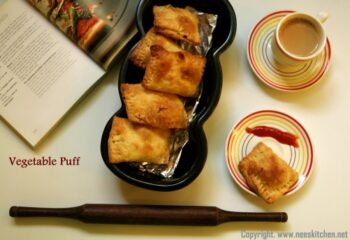 Vegetable Puffs - Plattershare - Recipes, Food Stories And Food Enthusiasts
