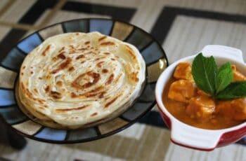 Malabari Parotta Or Kerala Parotta (Without Egg) - Plattershare - Recipes, Food Stories And Food Enthusiasts