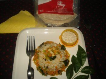 Oomugi Barley-Vegetable Upma - Plattershare - Recipes, Food Stories And Food Enthusiasts