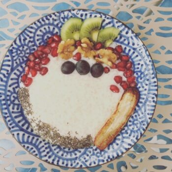 Oomugi (Barley) Porridge With Caramelised Banana - Plattershare - Recipes, Food Stories And Food Enthusiasts