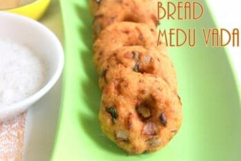Instant Bread Medu Vada - Plattershare - Recipes, Food Stories And Food Enthusiasts
