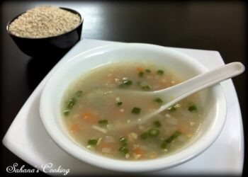Barley Vegetables Soup - Plattershare - Recipes, Food Stories And Food Enthusiasts
