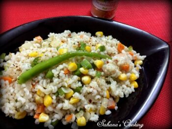 Barley And Corn Stir Fry - Plattershare - Recipes, Food Stories And Food Enthusiasts