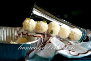 No Cook Coconut Laddoos ( A Navratri Recipe ) - Plattershare - Recipes, Food Stories And Food Enthusiasts
