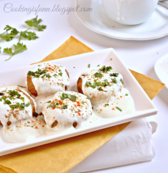 Dahi Aloo Chaat - Plattershare - Recipes, Food Stories And Food Enthusiasts