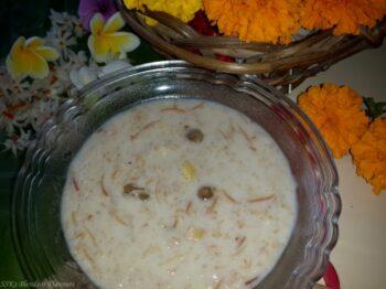 Oats Semiya Kheer/Payasam - Plattershare - Recipes, Food Stories And Food Enthusiasts
