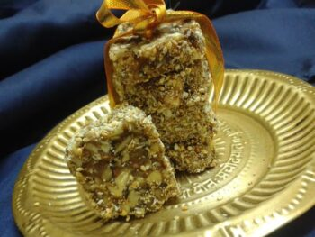 No Cook, No Bake Nuts Bar - Plattershare - Recipes, Food Stories And Food Enthusiasts