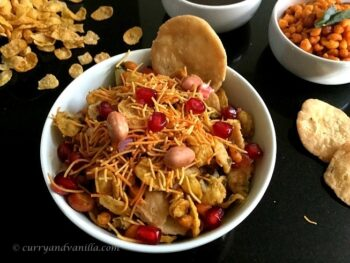 Cornflakes Bhel Chaat - Plattershare - Recipes, Food Stories And Food Enthusiasts