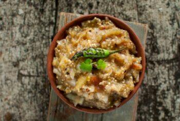 Baingan Ka Chokha - Plattershare - Recipes, Food Stories And Food Enthusiasts