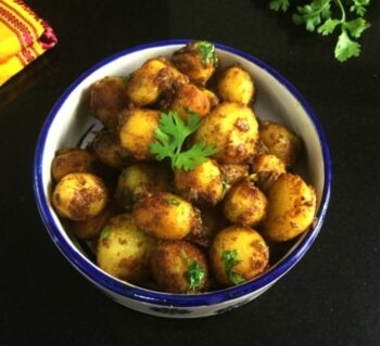 Quick Baby Aloo Fry - Plattershare - Recipes, Food Stories And Food Enthusiasts
