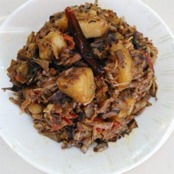 Mochaar Ghanta (Banana Flowers) Bangladeshi - Plattershare - Recipes, Food Stories And Food Enthusiasts