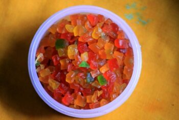 Homemade Tutti Frutti Recipe / Tutti Frutti Ingredients / How To Make Tutti Frutti At Home - Plattershare - Recipes, Food Stories And Food Enthusiasts