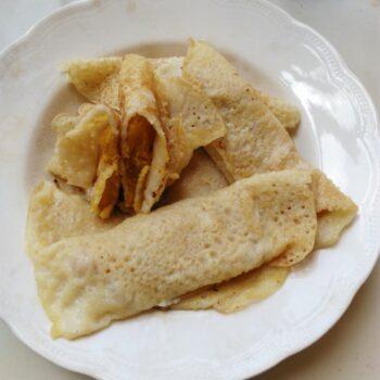 Taler Patishapta (Palm Wrap) Bangladeshi - Plattershare - Recipes, Food Stories And Food Enthusiasts