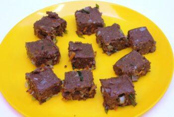 Veg Ragi Bars (Finger Millet Veg Bars) - Plattershare - Recipes, Food Stories And Food Enthusiasts
