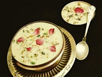 Rice Firni / Chawla Ki Firni - Plattershare - Recipes, Food Stories And Food Enthusiasts