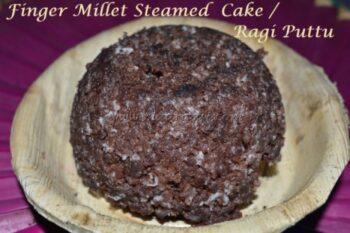 Ragi Puttu / Fingermillet Steamed Cake - Plattershare - Recipes, Food Stories And Food Enthusiasts