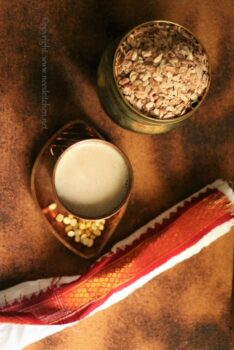 Red Rice Poha Congee Or Soup - Plattershare - Recipes, Food Stories And Food Enthusiasts