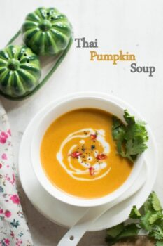 Thai Pumpkin Soup With Red Curry Paste Recipe - Plattershare - Recipes, Food Stories And Food Enthusiasts