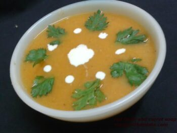 Red Lentil And Carrot Soup - Plattershare - Recipes, Food Stories And Food Enthusiasts