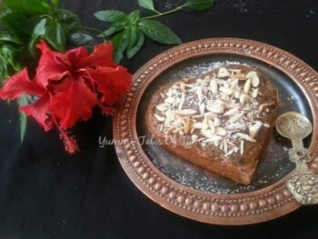Chocolate Chip, Apples &Amp; Zuchini Cake - Plattershare - Recipes, Food Stories And Food Enthusiasts