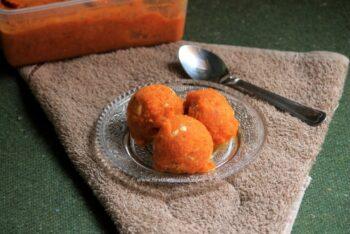 Carrot Halwa Ice Cream (Dairy Free) | Gajar Halwa Ice Cream (Dairy Free) - Plattershare - Recipes, Food Stories And Food Enthusiasts