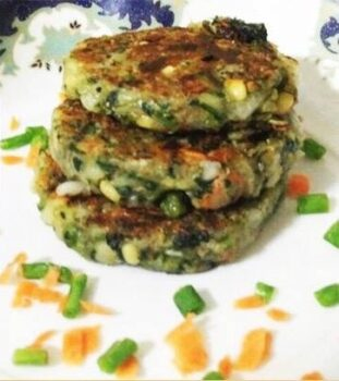 Quinoa Spinach Kabab - Plattershare - Recipes, Food Stories And Food Enthusiasts