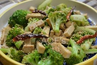 Broccoli And Tofu Salad - Plattershare - Recipes, Food Stories And Food Enthusiasts
