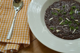 Black Rice Risotto (Vegan Recipe) - Plattershare - Recipes, Food Stories And Food Enthusiasts