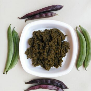 Sheem Bata (Flat Beans Paste) Bengali - Plattershare - Recipes, Food Stories And Food Enthusiasts