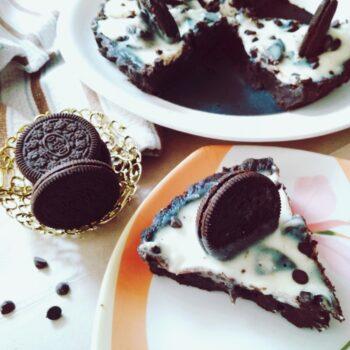 Christmas Dessert - No Bake Chocolate Oreo Tart (Egg-Free) - Plattershare - Recipes, Food Stories And Food Enthusiasts