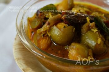 Ambeda Sakkara (Indian Olive Curry) - Plattershare - Recipes, Food Stories And Food Enthusiasts